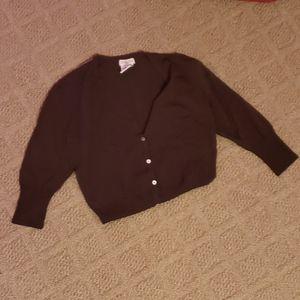 Brown Cardigan Women's